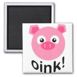 Oink! PIg Fridge Magnets