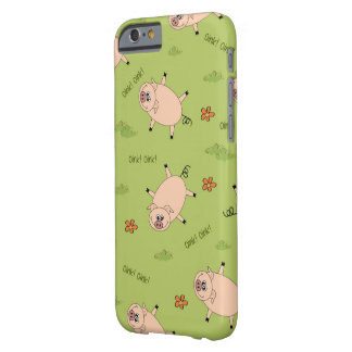 Oink Pig Pattern Barely There iPhone 6 Case