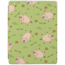 Oink Pig Pattern iPad Smart Cover