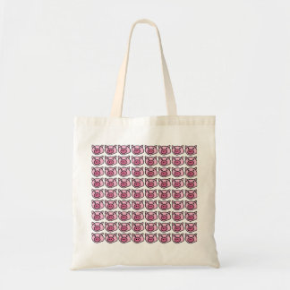 oink . pigs budget tote bag