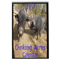 Oinking Acres Mini Pigs Calendar
