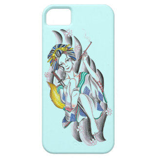 Oiran A fox woman   courtesan transforming fox iPhone SE/5/5s Case