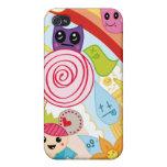 Oishii el jardín colorido iPhone 4 protectores
