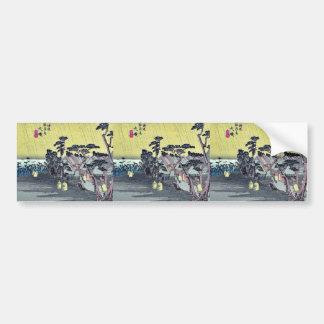 Oiso por Ando, Hiroshige Ukiyoe Pegatina Para Auto