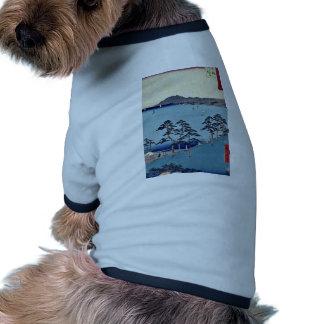 Oiso por Ando Hiroshige Ukiyoe Camisa De Perro