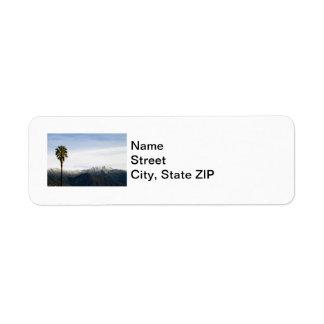 Ojai Palm Return Address Label