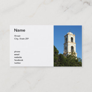 Post office business cards templates zazzle ojai post office tower business card colourmoves