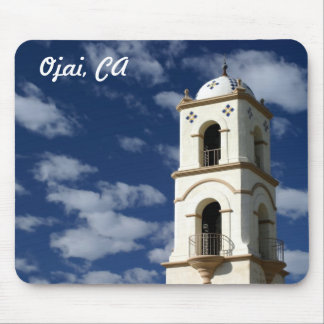 Ojai Post Office Tower Mouse Pads
