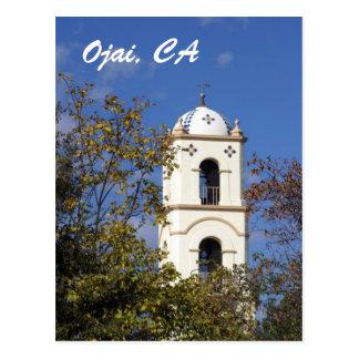 Ojai Post Office Tower Postcard