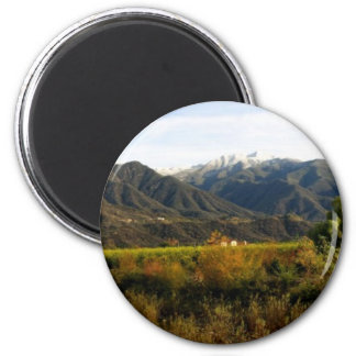 Ojai Valley With Snow 1 Magnets