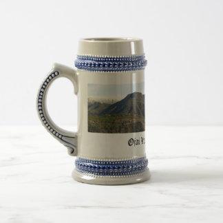 Ojai Valley With Snow Coffee Mugs