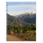 Ojai Valley With Snow Note Books