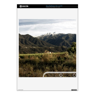 Ojai Valley With Snow PS3 Slim Decals