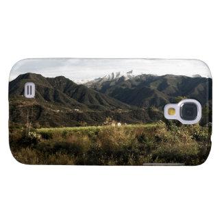 Ojai Valley With Snow Samsung Galaxy S4 Case
