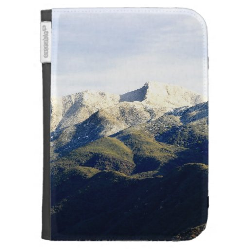 Ojai With Snow Kindle Keyboard Case