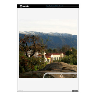 Ojai With Snow PS3 Slim Console Decal