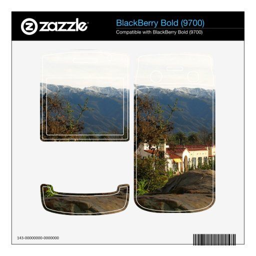 Ojai With Snow Skin For BlackBerry