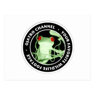Ojatro Channel Logo Postcard