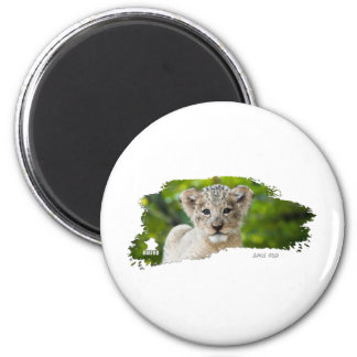 Ojatro Lion Cub 01 Fridge Magnets