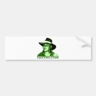 Ojatro Logo Green Car Bumper Sticker
