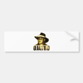 Ojatro Logo in Gold Bumper Sticker