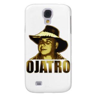 Ojatro Logo in Gold Samsung Galaxy S4 Cover