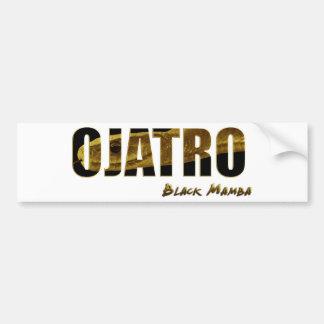 Ojatro Mamba Car Bumper Sticker