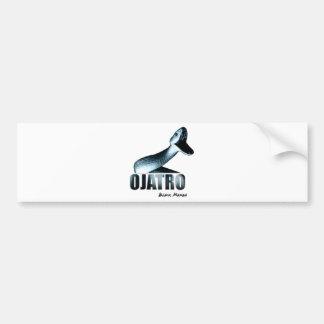 Ojatro Mamba in Blue Car Bumper Sticker