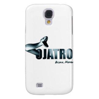 Ojatro Mamba Logo in blue Galaxy S4 Case