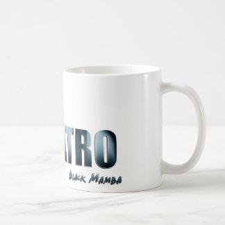 Ojatro Mamba Logo in blue Mugs
