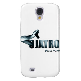 Ojatro Mamba Logo in blue Samsung Galaxy S4 Cover