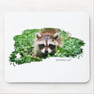 Ojatro Raccoon Kit 01 Mouse Pad