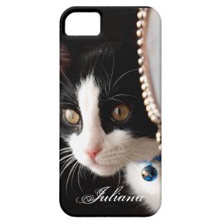 Ojeada blanco y negro un caso del iPhone 5 del iPhone 5 Carcasas