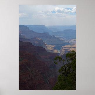 Ojeada de la impresión del río Colorado 4708 Poster