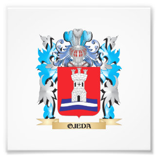 Ojeda Coat of Arms - Family Crest Photograph