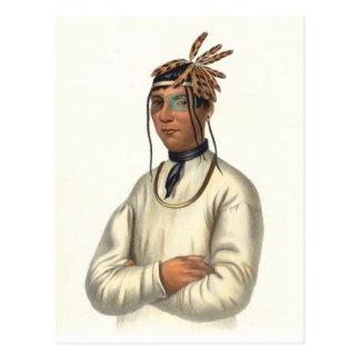 Ojibwa Postcard