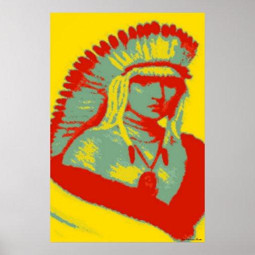 Ojibwa Print