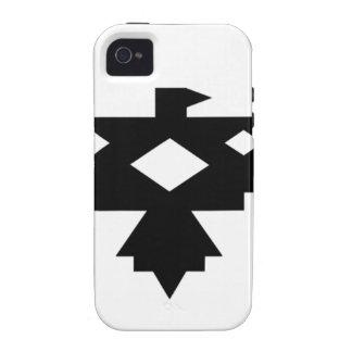 Ojibwa Thunderbird Vibe iPhone 4 Fundas