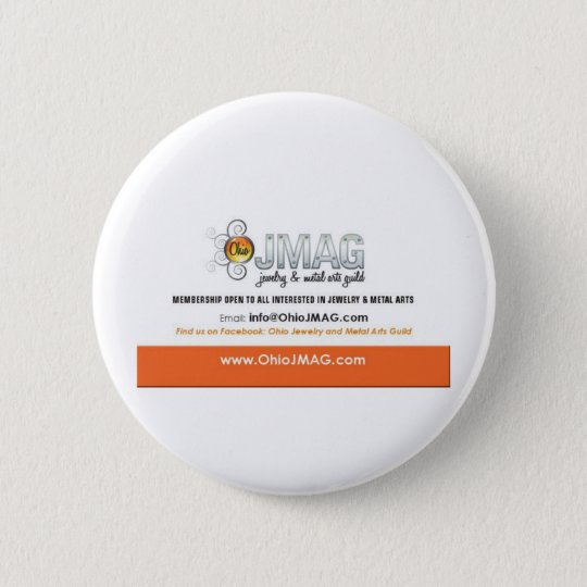 OJMAG button with white and orange logo