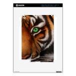 Ojo 2 del estampado de animales del tigre de Benga Pegatinas Skins Para iPad 3
