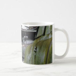 Ojo a observar taza de café