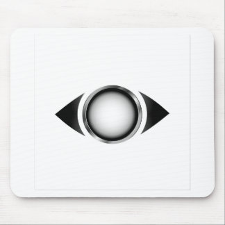 Ojo abstracto con el iris 3d tapetes de ratones