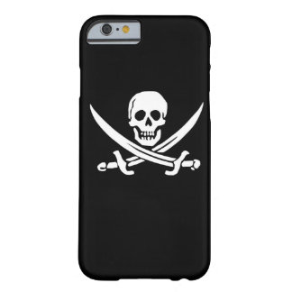 Ojo alegre del barco de la nave de la bandera de funda de iPhone 6 barely there