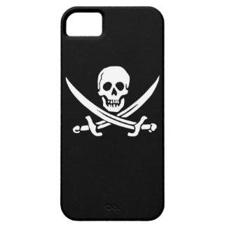 Ojo alegre del barco de la nave de la bandera de R iPhone 5 Cárcasas