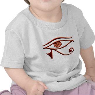 Ojo ardiente de la camisa de Horus