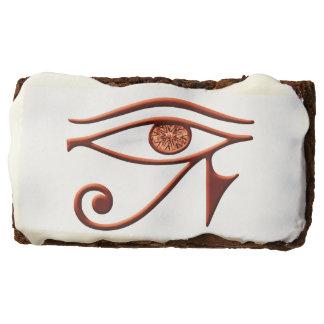 Ojo ardiente de los brownie de Horus
