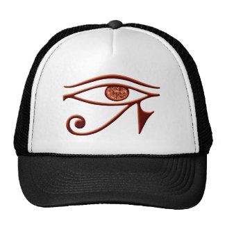 Ojo ardiente del gorra de Horus
