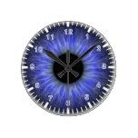 ojo azul abstracto relojes