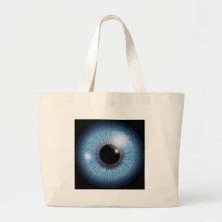 ojo azul, bolsas