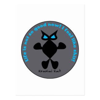 Ojo azul del gato, gato del ojo azul postales